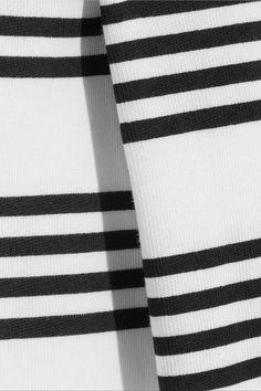 A.P.C. Atelier de Production et de Création - Striped Cotton-jersey Top - White -