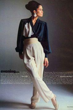 Vogue US 1985 Photo Steven Meisel Model Kim Williams