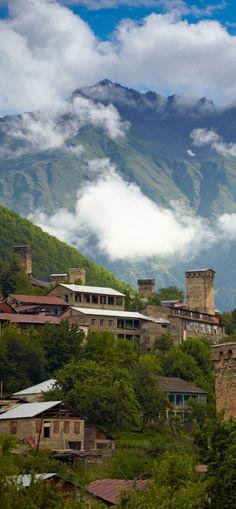 Leuke kleine dorpjes in Georgië. http://www.betterplaces.nl/georgie-reizen/
