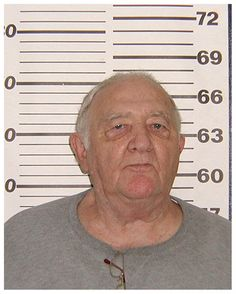 Wiseguy Gregory DePalma, best known as one of the hoodlums who posed in a famous backstage photo with Frank Sinatra, is seen above in a Bureau of Prisons mug shot taken at a federal lockup in North Carolina (where the Gambino crime family captain died in November 2009). Along with Carlo Gambino, Paul Castellano, and Aladena 'Jimmy the Weasel' Fratianno, DePalma was photographed in 1976 with Old Blue Eyes following a concert at the Westchester Premier Theatre. Sinatra's right arm is…