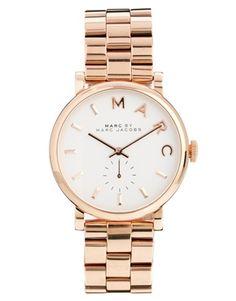 1c36e96d3caafe Marc By Marc Jacobs Baker Rose Gold Watch Montres Chic, Mode Femme, Montre  Femme