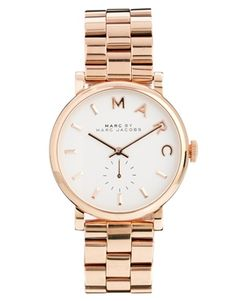 Marc By Marc Jacobs - Baker - MBM3244 - Montre - Or rose
