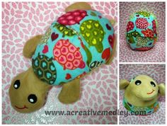 Peekaboo Mouse In the Hoop Stuffed Softie by ACreativeMedley