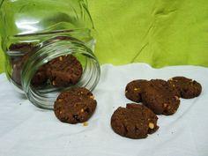 Bolachas de Cacau e Manteiga de Amendoim