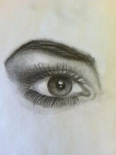 How to Draw Eyes, At the end of the guide on eyes it shows how to draw lips,hair, and a nose: