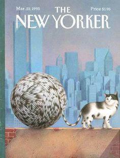 The cat meme at its most magnificently highbrow: 8 decades of cat-themed literature and art from the New Yorker - The Big New Yorker Book of Cats | Brain Pickings