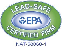 EPA Lead-Safe Certified Firm  Certification is required for any renovation that disturbs more than 6 square feet of interior or 20 square feet of exterior lead paint in residential or child-occupied facilities built before 1978. Failure to comply puts you at risk to be fined by the EPA & Local Government.