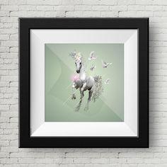 Ilustracion Digital Caballo y Palomas, Cuadro, Decoracion, Lamina, Caballo, Impresiones de GraphicHomeDesign en Etsy https://www.etsy.com/es/listing/239900217/ilustracion-digital-caballo-y-palomas