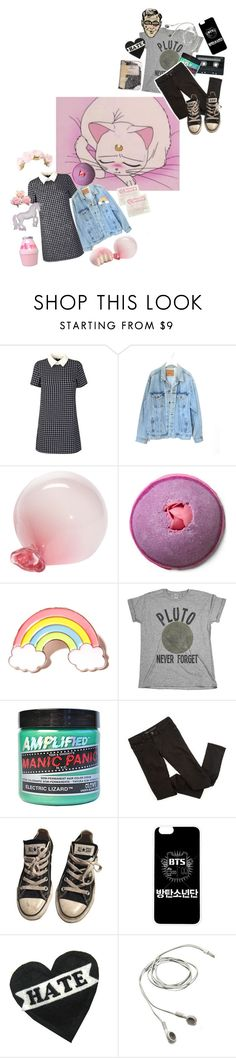 """you make rly aesthetic sets god bless  ♡"" by alpacainfluencer ❤ liked on Polyvore featuring Levi's, Esque Studio, Local Heroes, CASSETTE, Manic Panic NYC, Converse and vintage"