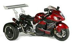 Trike Motorcycle, Busa, Jet Ski, Tricycle, Sport Bikes, Cars And Motorcycles, Motorbikes, Atv, Vehicles