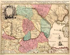 Old Maps, Bulgaria, Romania, Vintage World Maps, Geography, Antique Maps, Old Cards