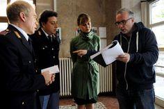 #PaolaCortellesi e #LucaMiniero sul set di Un #BossInSalotto, da Gennaio 2014 al cinema! #CinemaItaliano #WarnerComedy