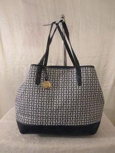 Tommy Hilfiger Handbag Lg Shopper Style 6927013 Retail $99.00 Ship Worldwide #TommyHilfiger #LgShopper