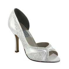 If you want to bling, this is the #wedding shoe for you!  $88