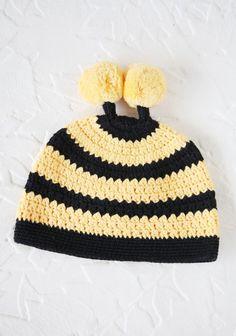 Little Bee Crochet Hat