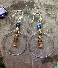 Ice Drop Hoop Earrings by iamlilyst | Project | Jewelry / Earrings | Kollabora