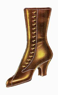 Antique Images  Free Fashion Clip Art  Vintage 1917 Women s Boot Fashion…  Digi Leimoja 5e8d982cdc