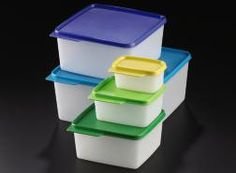 Tupperware is not just for the kitchen! I own 3 sets of these for closet, under the bathroom sink, and laundry room storage. Great for kids rooms, craft or sewing supplies, garage odds and ends? KeepTabs on your stuff with the 5pc set!