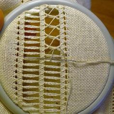 Awesome Most Popular Embroidery Patterns Ideas. Most Popular Embroidery Patterns Ideas. Hardanger Embroidery, Learn Embroidery, Hand Embroidery Stitches, Embroidery For Beginners, Hand Embroidery Designs, Embroidery Techniques, Ribbon Embroidery, Knitting Stitches, Cross Stitch Embroidery