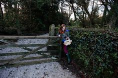 Abby Keverne walks past a gate after picking tea leaves at the Tregothnan Estate in Cornwall. Tregothnan has been selling tea since 2005 and currently produces around 10 tons a year of tea and infusions. (Photography by Stefan Wermuth/Reuters) Earl Grey Tea, Cornwall, Walks, Tea Time, Gate, Leaves, Inspired, Photography, Fotografie