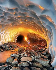 Ice Cave - this looks INCREDIBLE!