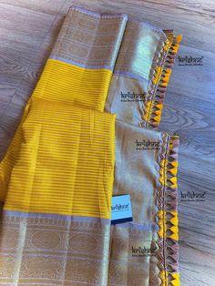 Saree Jacket Designs, Saree Tassels Designs, Saree Kuchu Designs, Saree Blouse Neck Designs, Fancy Blouse Designs, Latest Silk Sarees, Kalamkari Dresses, Wedding Saree Collection, Silk Saree Kanchipuram