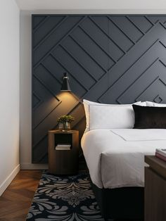 Amazing Bedroom Design Ideas [Simple Modern Minimalist Etc] - Smart House - Ideas of Smart House - Find your favorite bedroom pictures right here. Browse through photos of motivating bedroom design ideas to produce your perfect home. Master Bedroom Design, Home Decor Bedroom, Bedroom Ideas, Bedroom Modern, Modern Headboard, Diy Bedroom, Master Bedrooms, Trendy Bedroom, Bedroom Designs