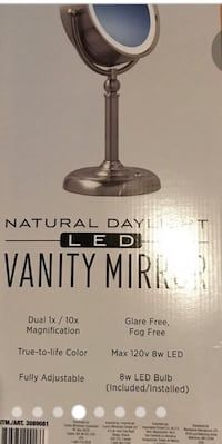 9cd057110 Used LED VANITY MIRROR with Dual 1X to 10X for sale in Rosemead