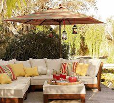 Outdoor Space via Home Bunch