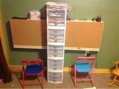 everyday memories- homeschool room, workbox, FIAR, CC, classical conversations