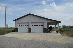 Metal buildings shops with garage and garage storage building plans – Check Out THE PICTURE for Various Tips and Ideas. Pole Barn Garage, Building A Pole Barn, Metal Shop Building, Building A Garage, Rv Garage, Pole Barns, Steel Garage, Garage Shop, Dream Garage