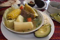 Receta - Caldo de Res  También llamado cocido o puchero l Solo lo mejor de Guatemala