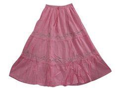 Womens Tiered Maxi Skirt Embroidered Salmon Pink Long Skirt Boho Peasant Gypsy Skirt Mogul Interior,http://www.amazon.com/dp/B00BMLOUDY/ref=cm_sw_r_pi_dp_Epmmrb1G79RR4PYB