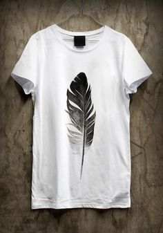 feather shirt with high wasted shots would be perfect for summer