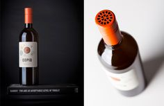 Wine label design and bottle photography by Fusebox Design