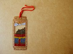 http://www.culturaltravelguide.com/how-to-plan-your-trip Chinese bookmark. #bookmark #chinese_art