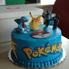 Taras Cupcakes: Pokemon cake