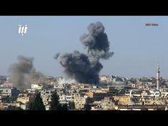 Guerra na Síria - Ofensiva jihadista e ataques aéreos - Fevereiro de 2017