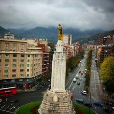 #Bilbao Plaza de Sagrado Corazón #Bizkaia #Basquecountry #turismo #Spain #visitEuskadi