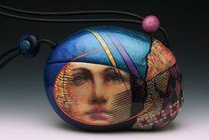 Ambivalence, polymer clay, Kathleen Dustin.