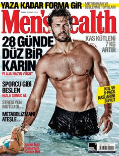 Men's Health 2014 Mayıs sayısı.