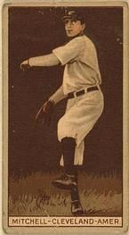 1912 Brown Backgrounds T207 #129 Willie Mitchell  Front