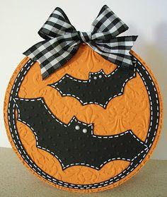 Bats Halloween Card