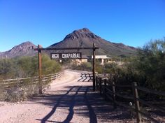 Film set for High Chaparral in Old Tucson in Arizona