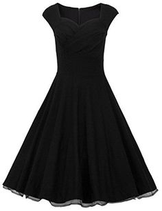 Dresstells 50er Retro Audrey Hepburn Schwingen Pinup Polka Dots Rockabilly Kleid, http://www.amazon.de/dp/B014D0A02A/ref=cm_sw_r_pi_awdl_7CQcwb16SMTND