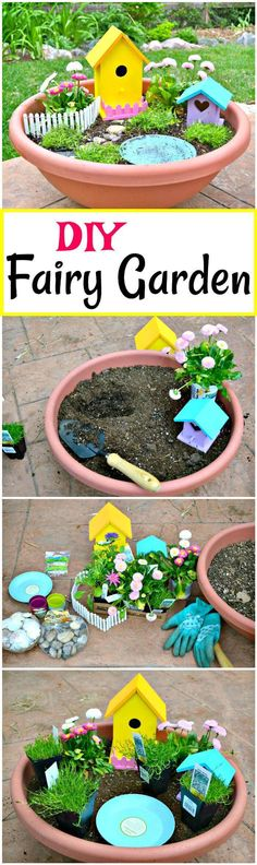 60 Best DIY Fairy Garden Ideas / Fairy Garden Houses - Page 2 of 6 - DIY & Crafts