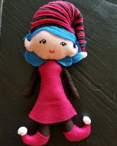 Girl Scout Brownie ELF doll template by Learning As I Sew...bake, cut, and create: Girl Scout Brownie ELF Doll