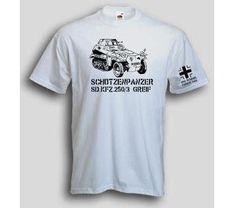 T-Shirt Schützenpanzer Greif / mehr Infos auf: www.Guntia-Militaria-Shop.de