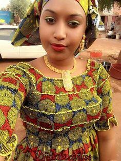 Malian Fashion bazin #bazin #Malifashion #wax #malianwomenarebeautiful