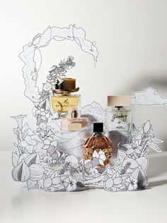 "STYLEUK photography by Victoria Zschommler ""Where will the fragrance take you?"" pinned by Ton van der VeerIN STYLEUK photography by Victoria Zschommler ""Where will the fragrance take you?"" pinned by Ton van der Veer Posies Perfume Oil Pos Display, Visual Display, Display Design, Store Design, Product Display, Visual Merchandising Displays, Design Shop, Perfume Display, Perfume Storage"